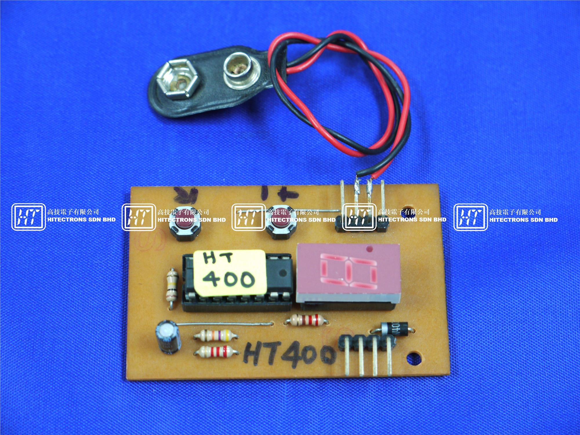 Ht400 Single Digit Up Counter Elect End 9 8 2019 314 Pm Hobby Electronic Circuits Electronics Diy Kit Set