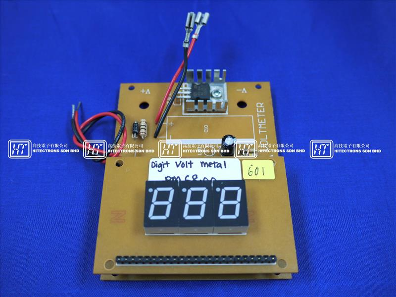 Digital Voltmeter Kit : Ht digits digital voltmeter end am