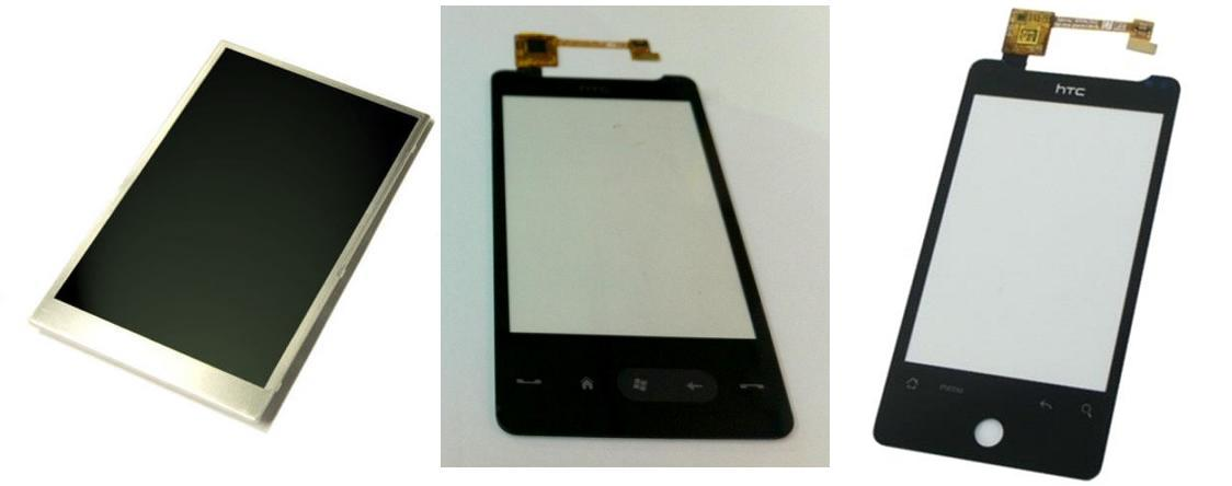 HTC Aria G9 A6380 / HD Mini T5555 Display Lcd / Digitizer Touch Screen