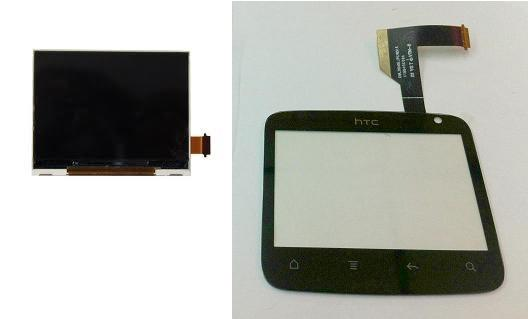 HTC ChaCha Cha Cha G16 A810e Display Lcd / Digitizer Touch Screen