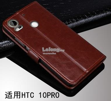 newest collection 537b6 ae9ba HTC DESIRE 10 PRO casing pu leather flip cover