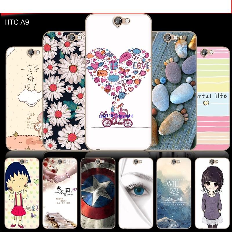 finest selection 9b1a9 97243 HTC one A9 Cute Cartoon Korea Case Casing Cover