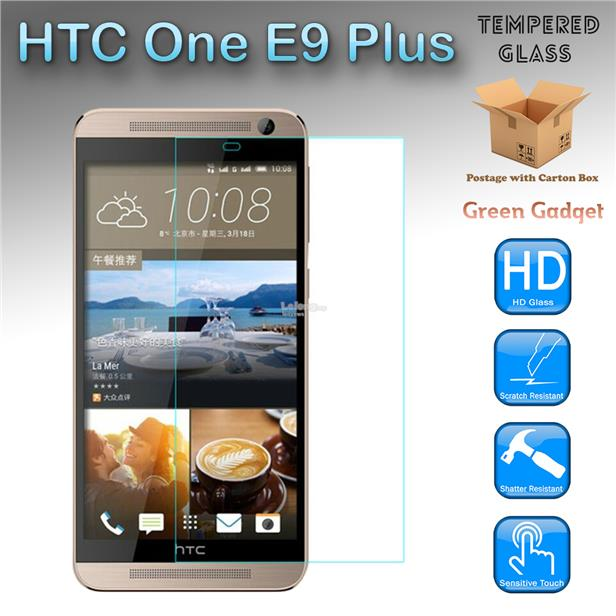 HTC One E9 Plus Tempered Glass Screen Protector