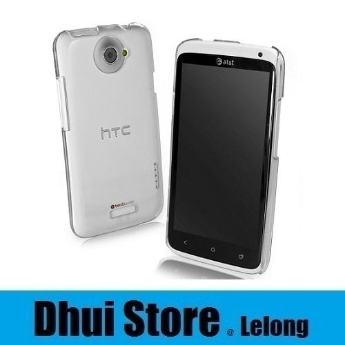 HTC One X Crystal Clear Transparent Hard Case