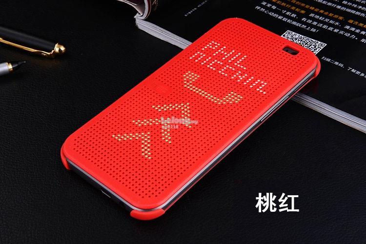 best sneakers d60fa 289b1 HTC one X9 Smart flip Dot View Case Casing cover