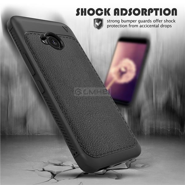 the latest 74520 7c487 HTC U11 Life LENUO Rugged Tough Slim Armor TPU Bumper Soft Cover Case