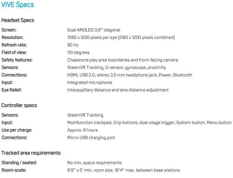 HTC Vive - Virtual Reality Headset | Official HTC Vive Malaysia Set
