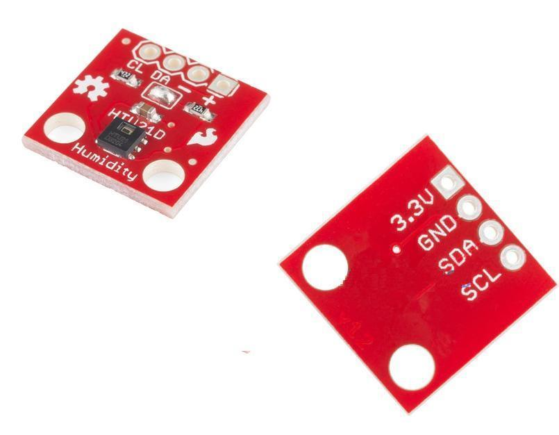 htu21d temperature and humidity sensor module breakout board
