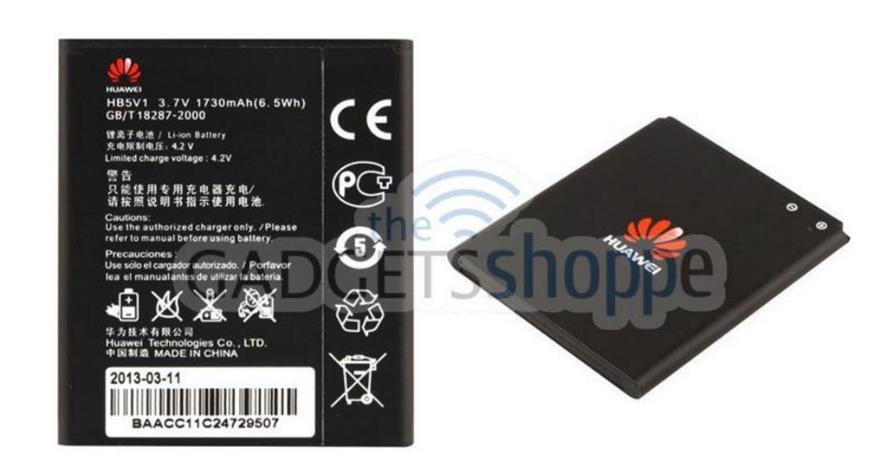 HUAWEI ASCEND Y300 Y300C Y500 (HB5V1) ORIGINAL 1730MAH BATTERY