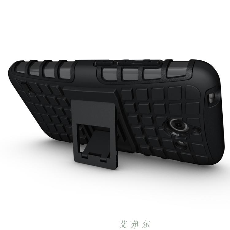 Huawei Ascend Y550 PC+TPU Armor Belt Case Cover Casing