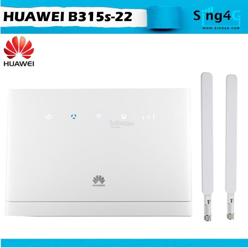 Huawei B315 4G Router Direct Sim Router @ Digi Celcom Maxis Umobile