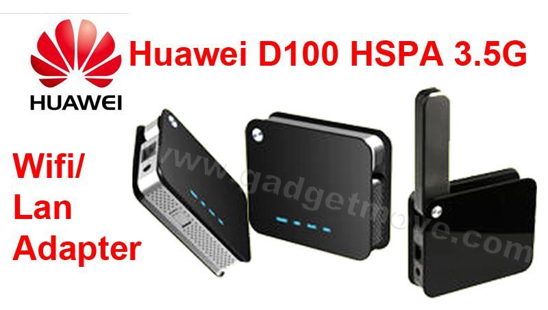 Huawei D100 HSPA 3G / 4G Mobile Broadband Gateway Wifi Wireless Router