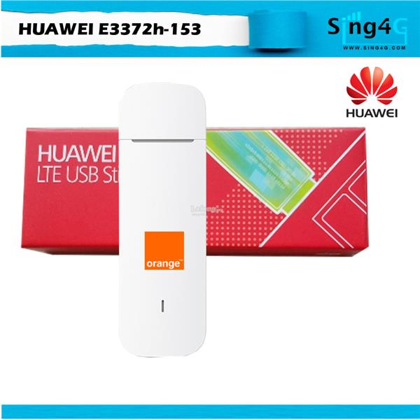 Huawei E3372 4G LTE 3G USB Modem 150Mbs Direct Single PC Hi Link