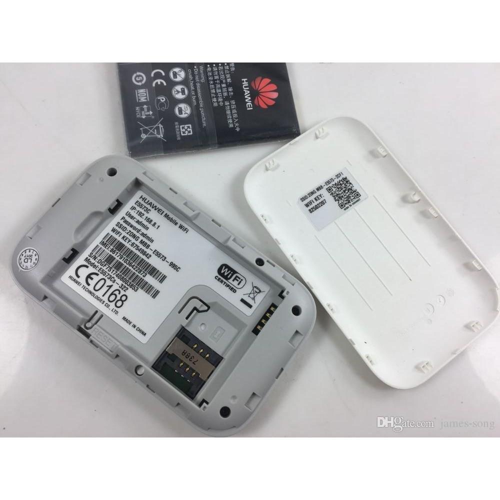 Huawei E5573 4G LTE Pocket Mobile WiFi Wireless Mifi Hotspot Modem