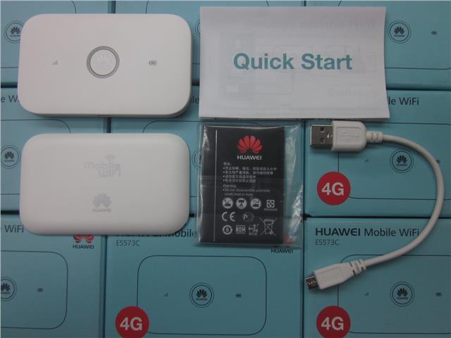 Huawei E5573 R216 LTE 4G MiFi 150Mbps Original Huawei logo Unlocked