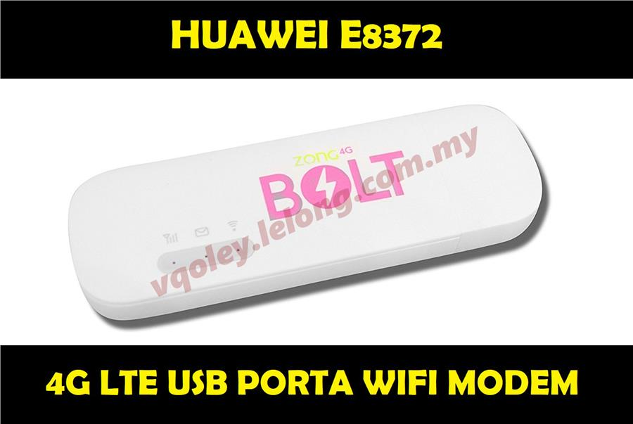 Huawei E8372 4G LTE 150MBPS USB Modem Wingle Portawifi Broadband