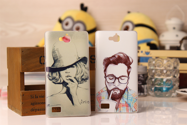Huawei Honor 3C Maddlon Stylish Painted Color Design Hard case