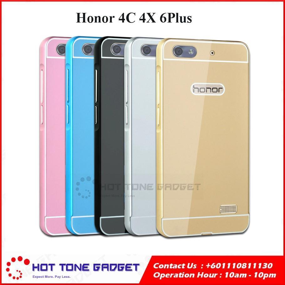 competitive price a4acf d5ddf HUAWEI Honor 4C 4X 6Plus Aluminium Metal Bumper Slim Back Case Cover