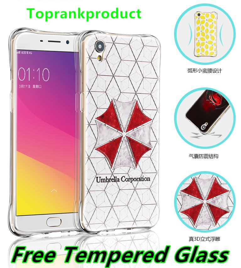 Huawei Honor 5A 3D Silicone Armor Case Cover Casing + Tempered Glass