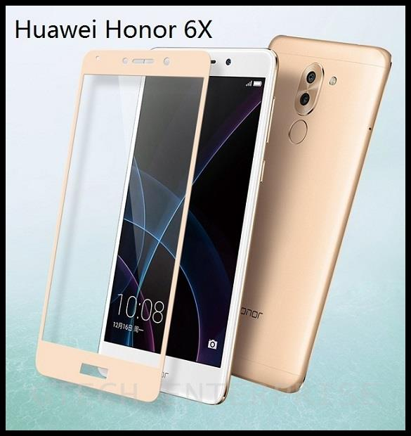 l'ultimo 21a11 dba1c Huawei Honor 6X Full Cover 9H Tempered Glass Screen Protector