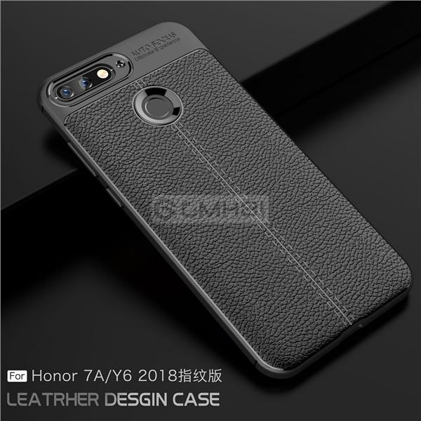 brand new 3e6a3 8ac1a Huawei Honor 7A Y6 2018 LYCHEE Rugged Tough Armor Bumper Cover Case