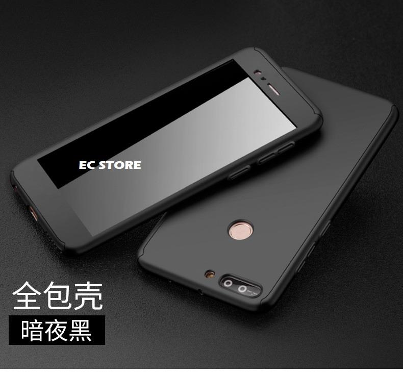 super popular b37c4 07e4f Huawei Honor 7X 6X 8 Pro 9 Lite 360 Hard Matte Tempered Glass Case