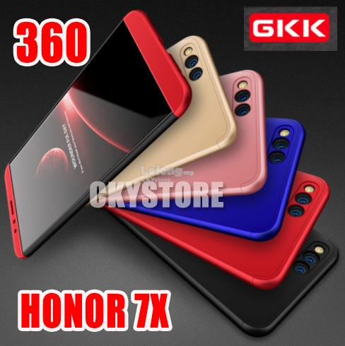 cheap for discount 60c1c 3a851 HUAWEI Honor 7X ORIGINAL GKK 360 FULL Protection Ultra Fit Case