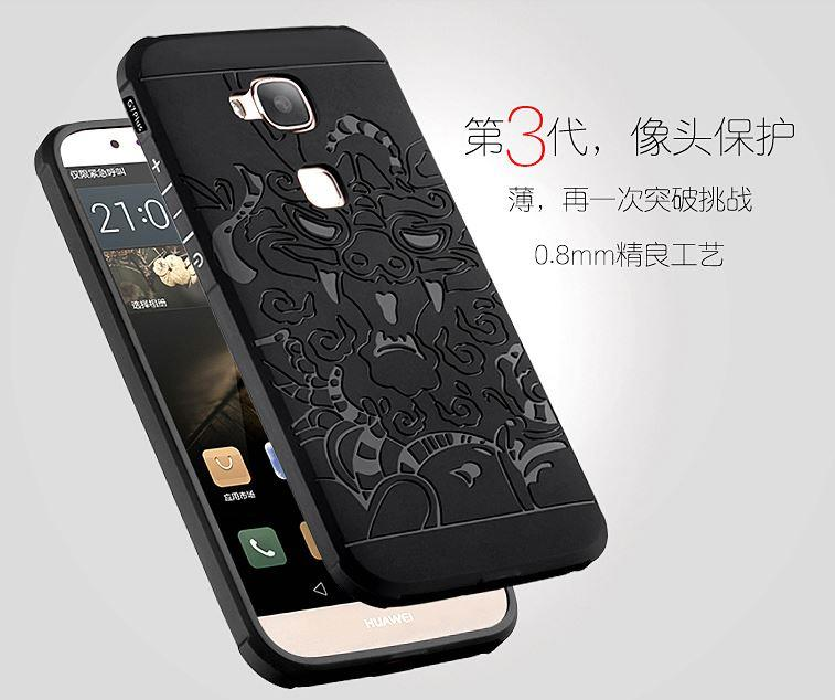 HUAWEI HONOR 8 6 PLUS MATE 7 5X G8 8 COCOSE Dragon Protection Case. ‹ ›