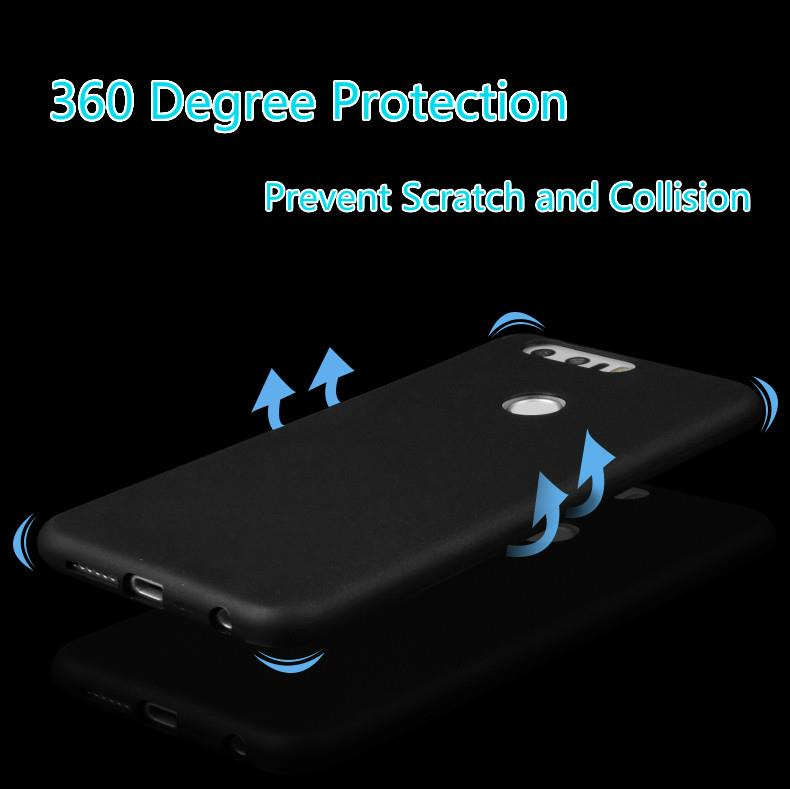 Huawei Honor 8 Matte Soft Casing (4 Colors)
