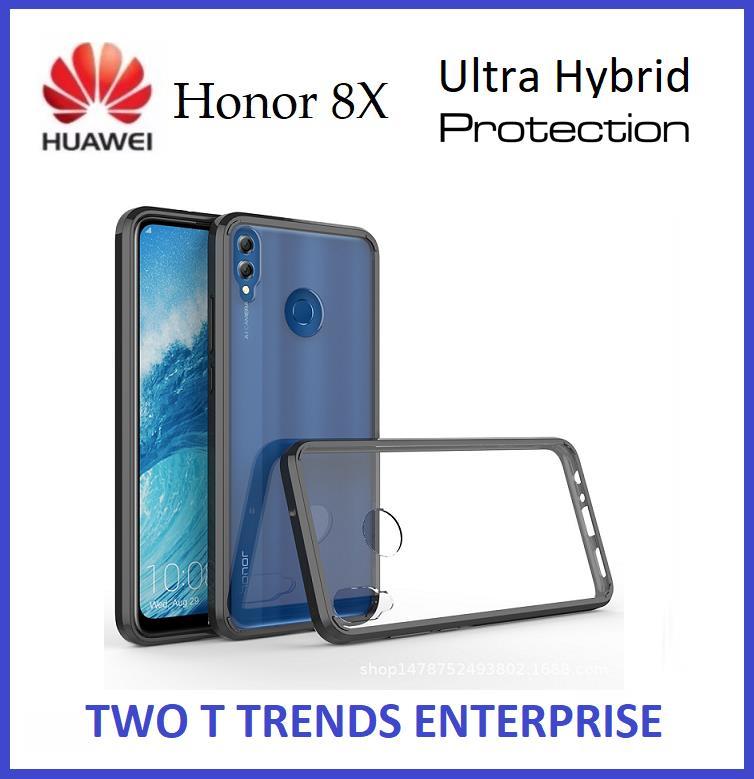 premium selection 31e02 1c1f7 Huawei Honor 8X Air Hybrid TPU Case Slim Bumper Fusion Cover