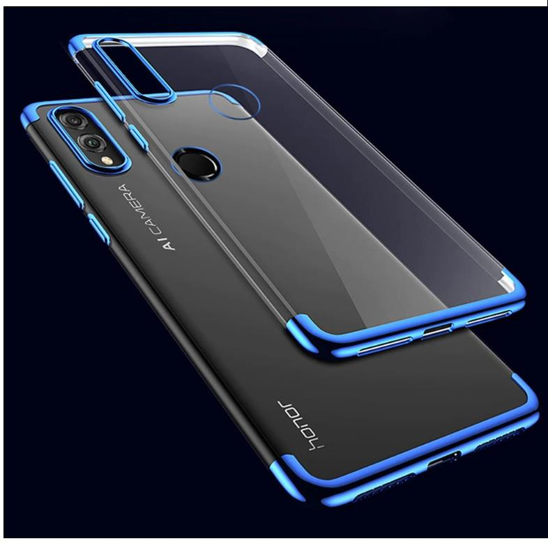 quality design 92440 202ba Huawei Honor 8X Play Silicon TPU Bumper Transparent Clear Case Cover
