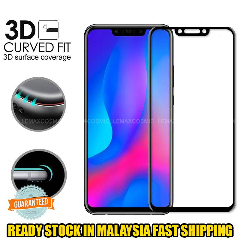 innovative design 2ece1 67868 HUAWEI HONOR PLAY 8X Premium Full Cover 9H Tempered Glass