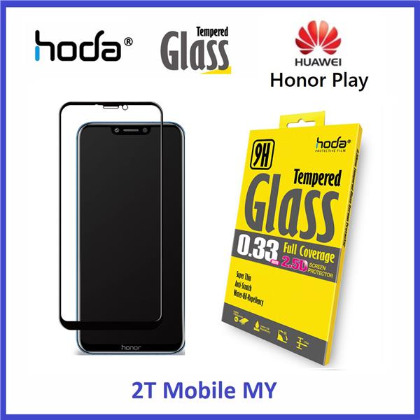 Huawei Honor Play HODA 2 5D Full Coverage Tempered Glass