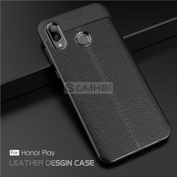 sale retailer dbc7e 39983 Huawei Honor Play LYCHEE Rugged Tough Slim Armor TPU Bumper Cover Case