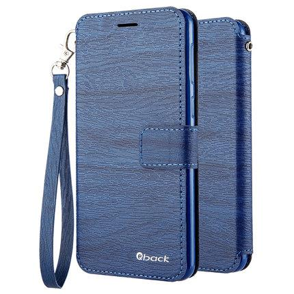 Huawei Honor Play Wood tree flip wallet case cover + Tempered glass