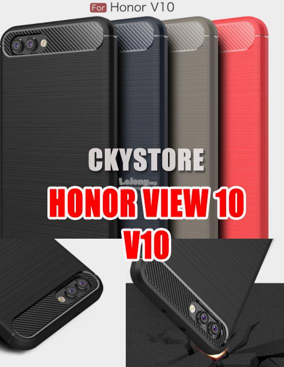 HUAWEI Honor View 10 V10 Durable Protection FIBER TPU Case