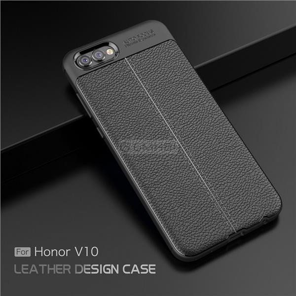 timeless design 31098 1c712 Huawei Honor View 10 V10 LYCHEE Rugged Slim TPU Bumper Cover Case