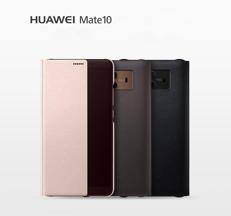HUAWEI Mate 10 / 10 Pro Smart Clear Full View Flip Cover Leather Case