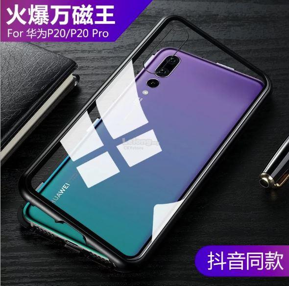 quality design 0389a 12bee HUAWEI Mate 10 P20 MATE 20 20X PRO MAGNETIC ABSORPTION METAL CASE