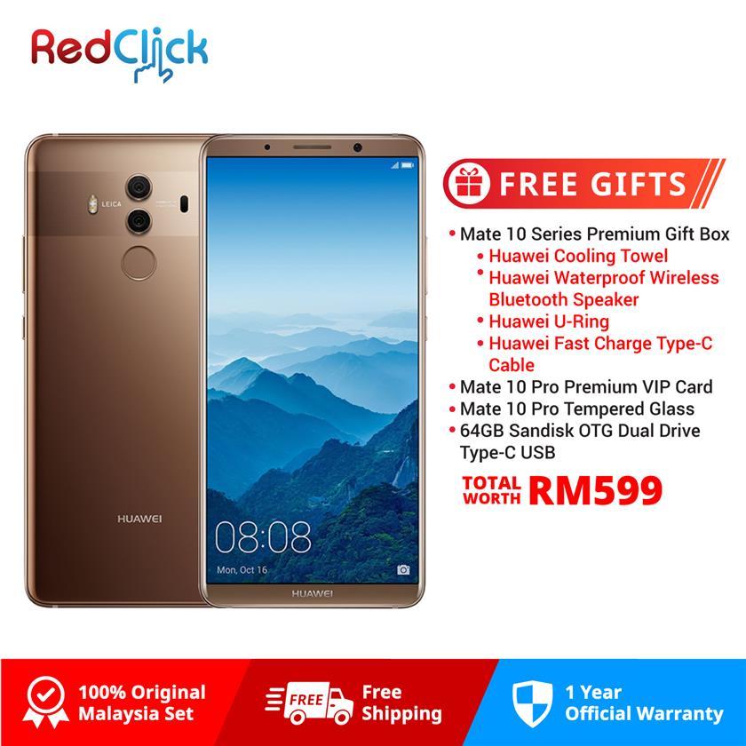 Huawei Mate 10 Pro/BLA-L29 (6GB/128GB) + 4 Free Gift Worth RM899