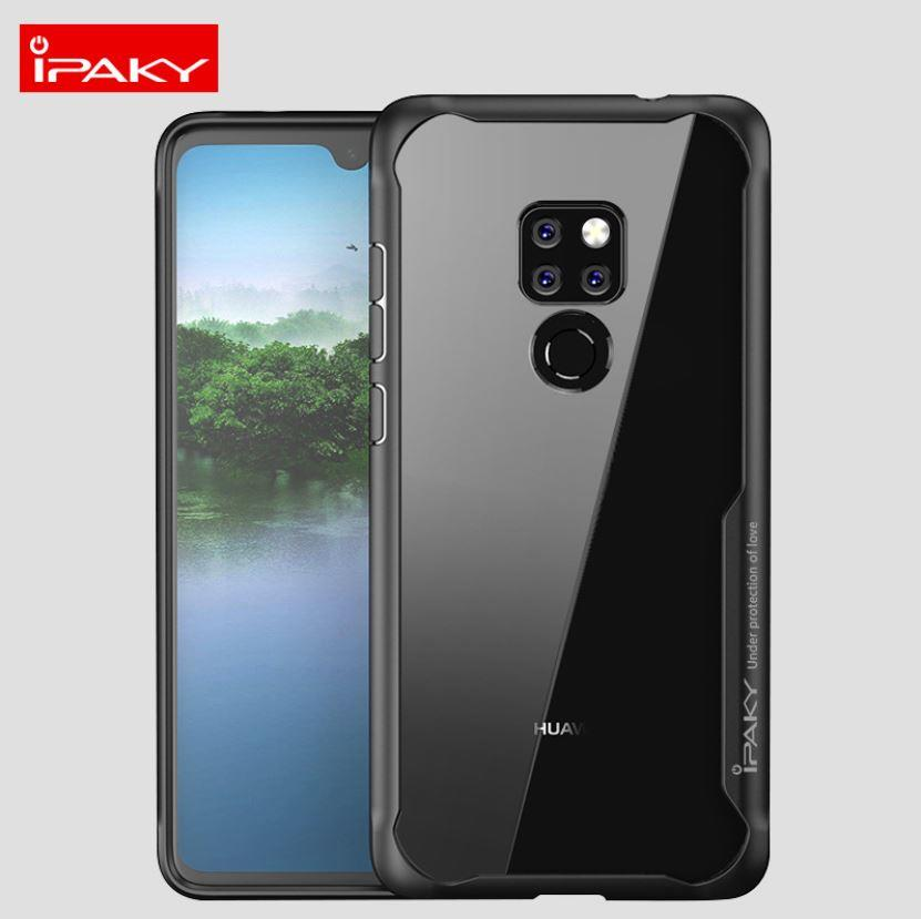 the latest d09c8 2b04e Huawei Mate 20 / 20 Pro iPaky Tough Protection Transparent Case Cover