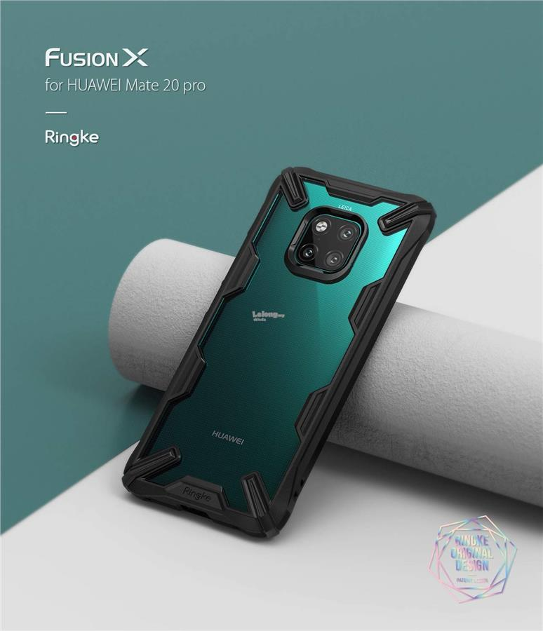 new styles cc5de fdee7 Huawei Mate 20 / Mate 20 Pro - Ringke Fusion-X Fusion X Case Cover