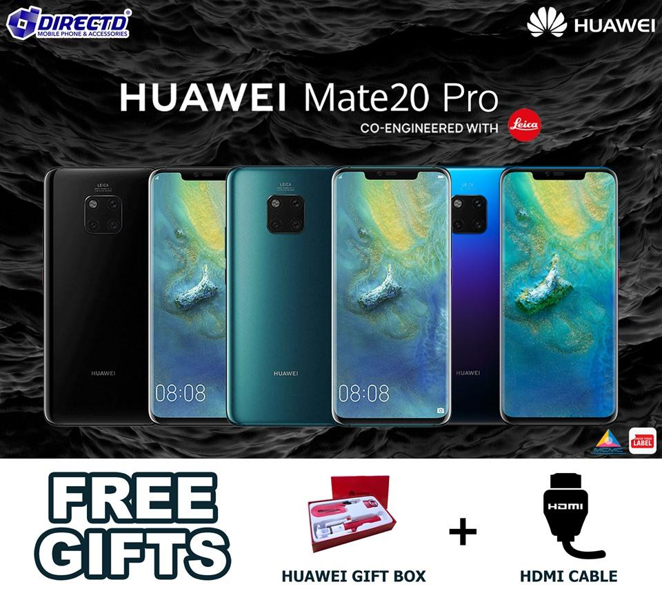 Huawei Mate 20 PRO (ORIGINAL set) PROMO PRICE RM2599 + GIFTS