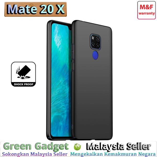 Huawei Mate 20 X Case Cover Thin Fit Hard (Black)