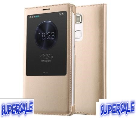 Huawei Mate 7 Flip PU Leather Casing Case Cover