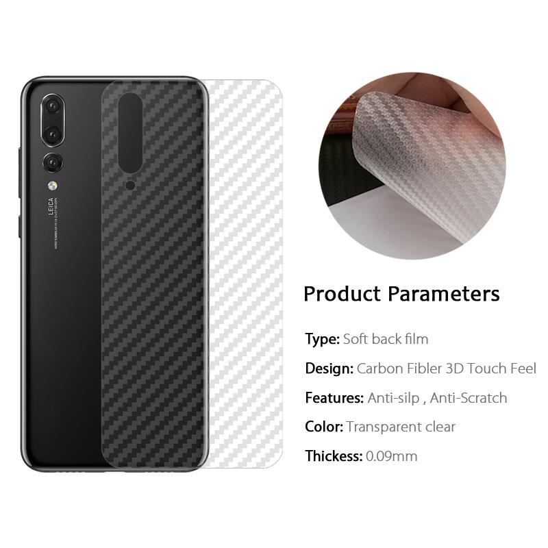 HUAWEI MATE 8 10 20 PRO 20X Y9 2019 CARBON FIBER FILM SCREEN PROTECTOR