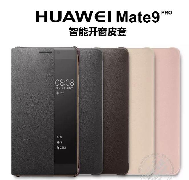 huge selection of a9cdb 6e06e HUAWEI MATE 9 PRO Smart View Clear Flip Cover Case
