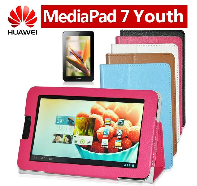 Huawei MediaPad 7 Youth S7-601 S7-701U/W Flip Case + Free SP