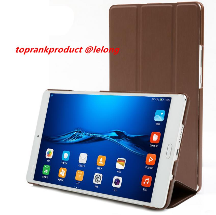 Huawei MediaPad M3 8.4' Flip Stand Case Cover Casing + Free Gift