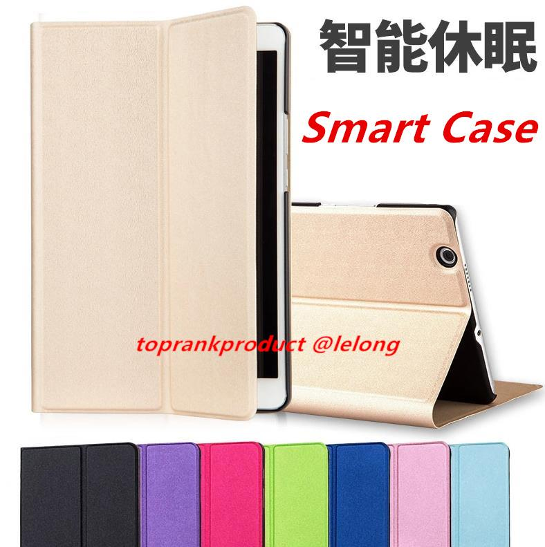 uk availability a48b6 5615f Huawei MediaPad M3 8.4' Flip Stand Smart PU Leather Case Cover Casing